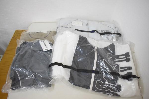 未使用品34点まとめ メンズ Yシャツ Tシャツ ウインドブレーカー NIKE ナイキ DUNLOP ダンロップ M、Lサイズ G-1906_画像3