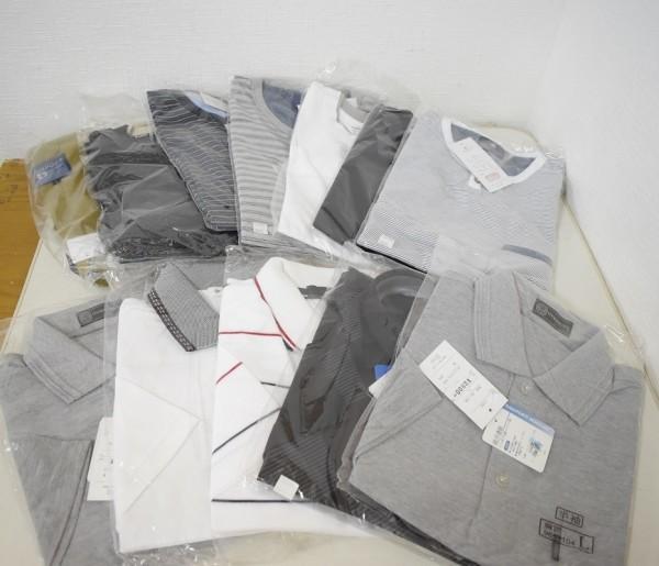 未使用品34点まとめ メンズ Yシャツ Tシャツ ウインドブレーカー NIKE ナイキ DUNLOP ダンロップ M、Lサイズ G-1906_画像6