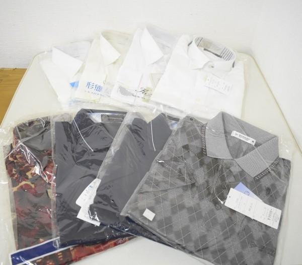未使用品34点まとめ メンズ Yシャツ Tシャツ ウインドブレーカー NIKE ナイキ DUNLOP ダンロップ M、Lサイズ G-1906_画像5