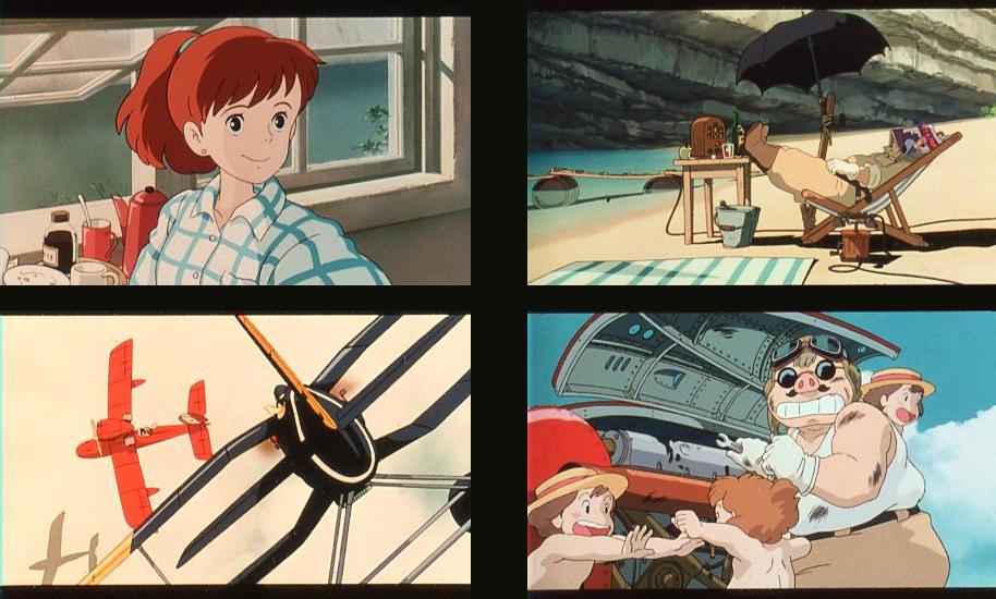 紅の豚 35mmフィルム 12枚 宮崎駿 スタジオジブリ