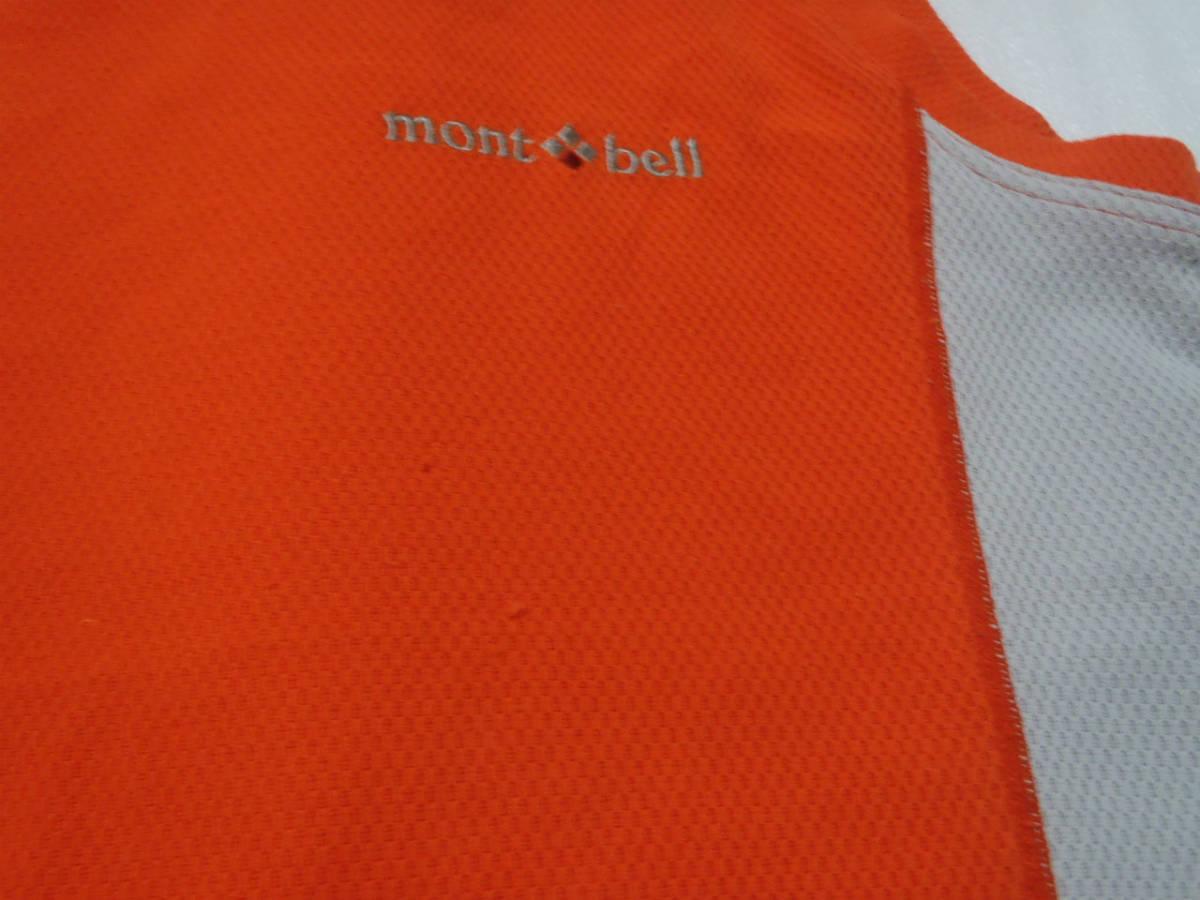 USED モンベル mont-bel スリーブレス シャツ サイズM_画像4