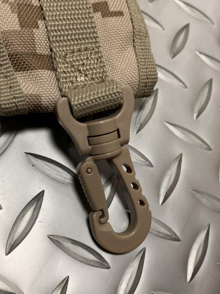 米軍 海兵隊 放出品 ユーティリティ ポーチ デザート ウッドランド バックパック RECON/MARSOC /SARC 携帯電話 USMC _画像3