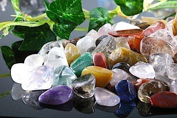 【送料無料】 200g さざれ 大サイズ ミックスジェムストーン 水晶 パワーストーン 天然石 ブレスレット 浄化用 さざれ石 チップ ※3_画像1
