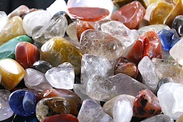 【送料無料】 200g さざれ 大サイズ ミックスジェムストーン 水晶 パワーストーン 天然石 ブレスレット 浄化用 さざれ石 チップ ※3_画像4
