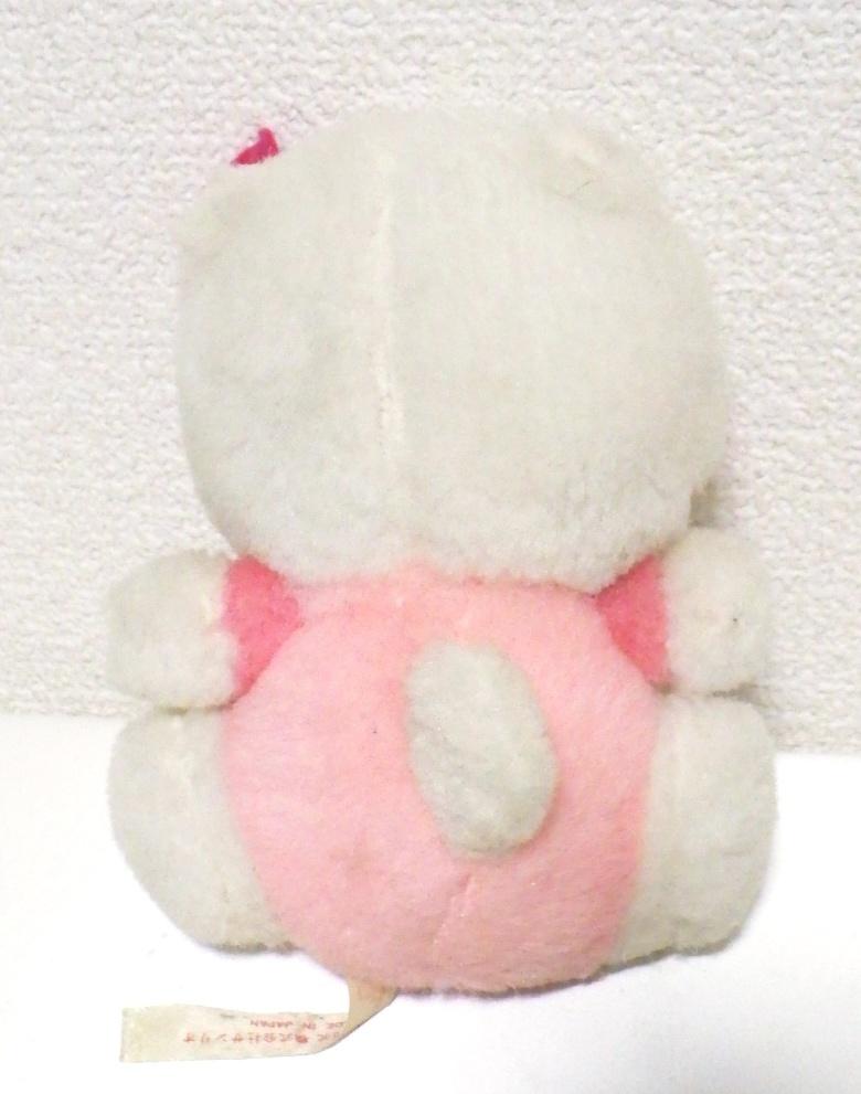 ☆レア☆希少☆昭和レトロ サンリオ キティちゃん キティ ぬいぐるみ 日本製 当時物_画像2