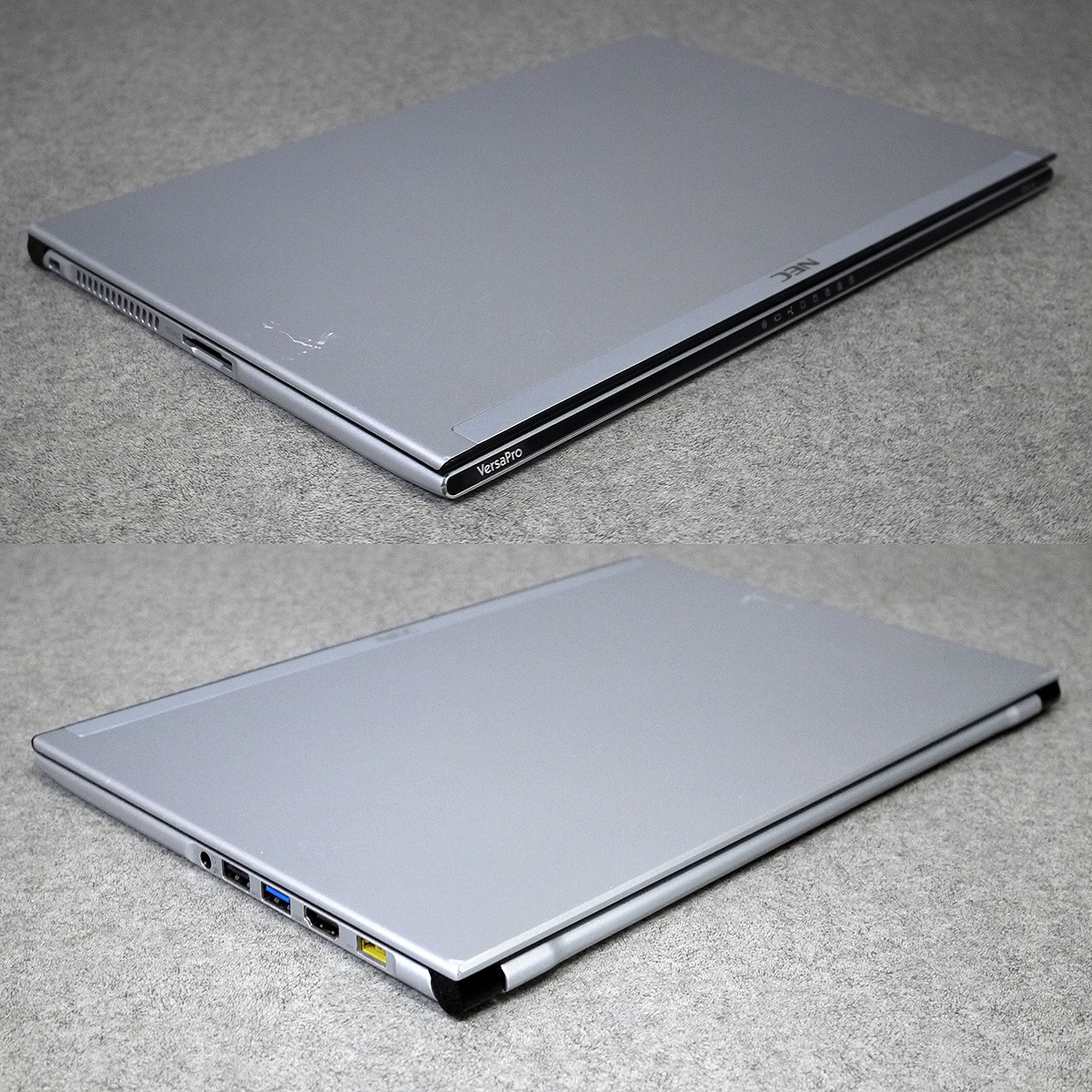 NEC Versa Pro UltraLite VJ18T 13.3ウルトラブック 4G/SSD128●OFFICE●動作良好きれいに_画像7