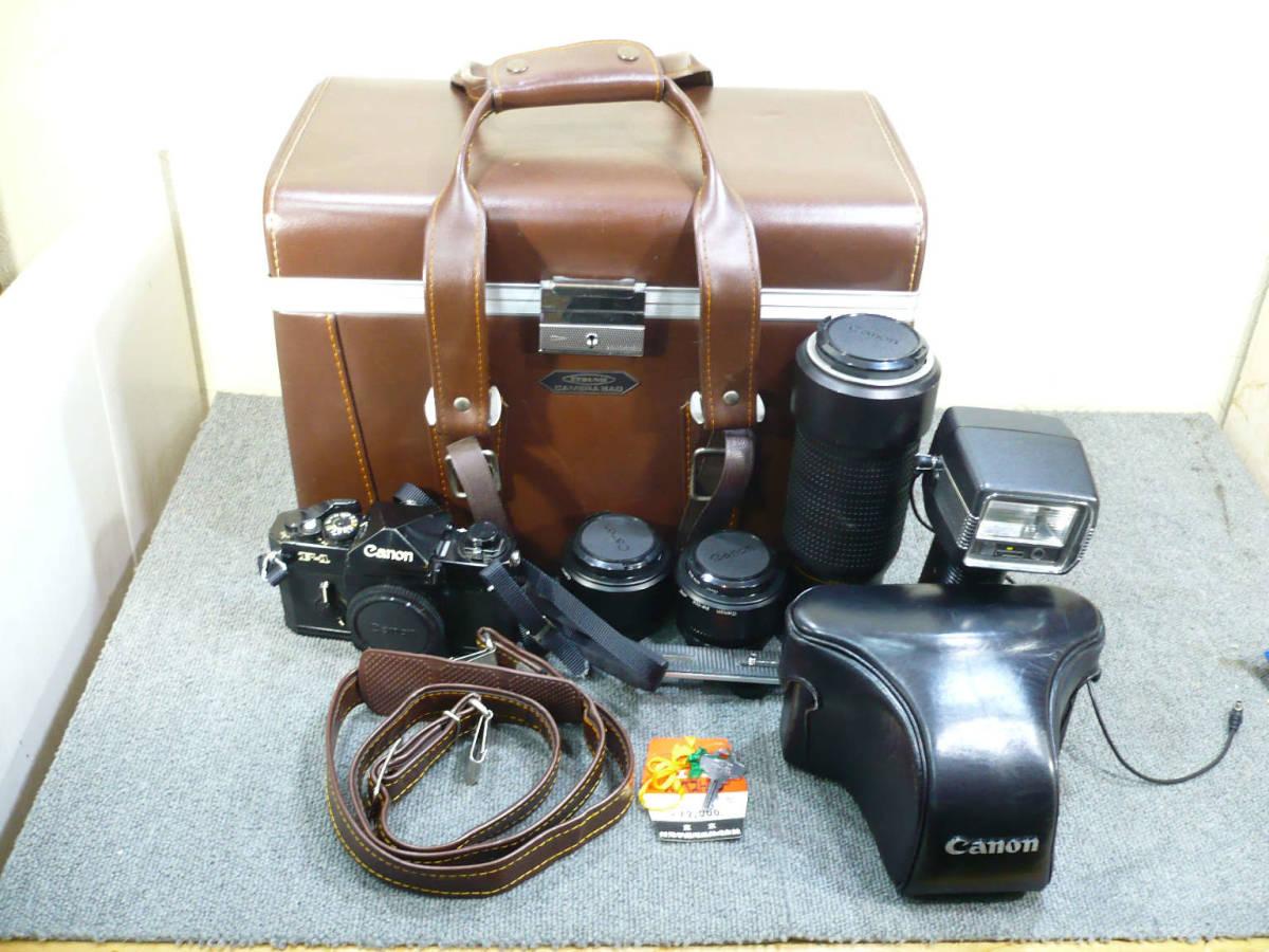 ★ビンテージ★CANON キャノン F-1 後期型 旧F-1 レンズ NEW FD 35mm 50mm 100-300mm