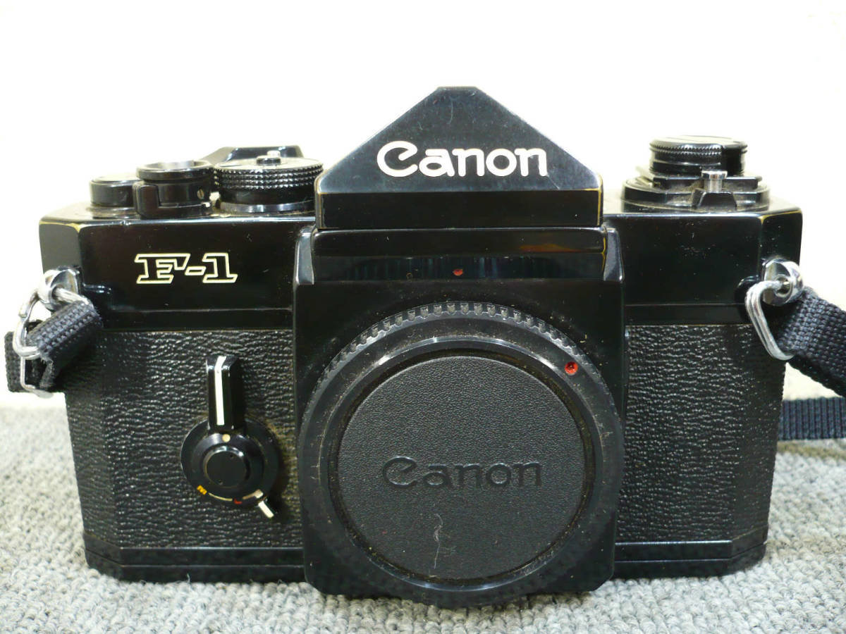 ★ビンテージ★CANON キャノン F-1 後期型 旧F-1 レンズ NEW FD 35mm 50mm 100-300mm_画像2