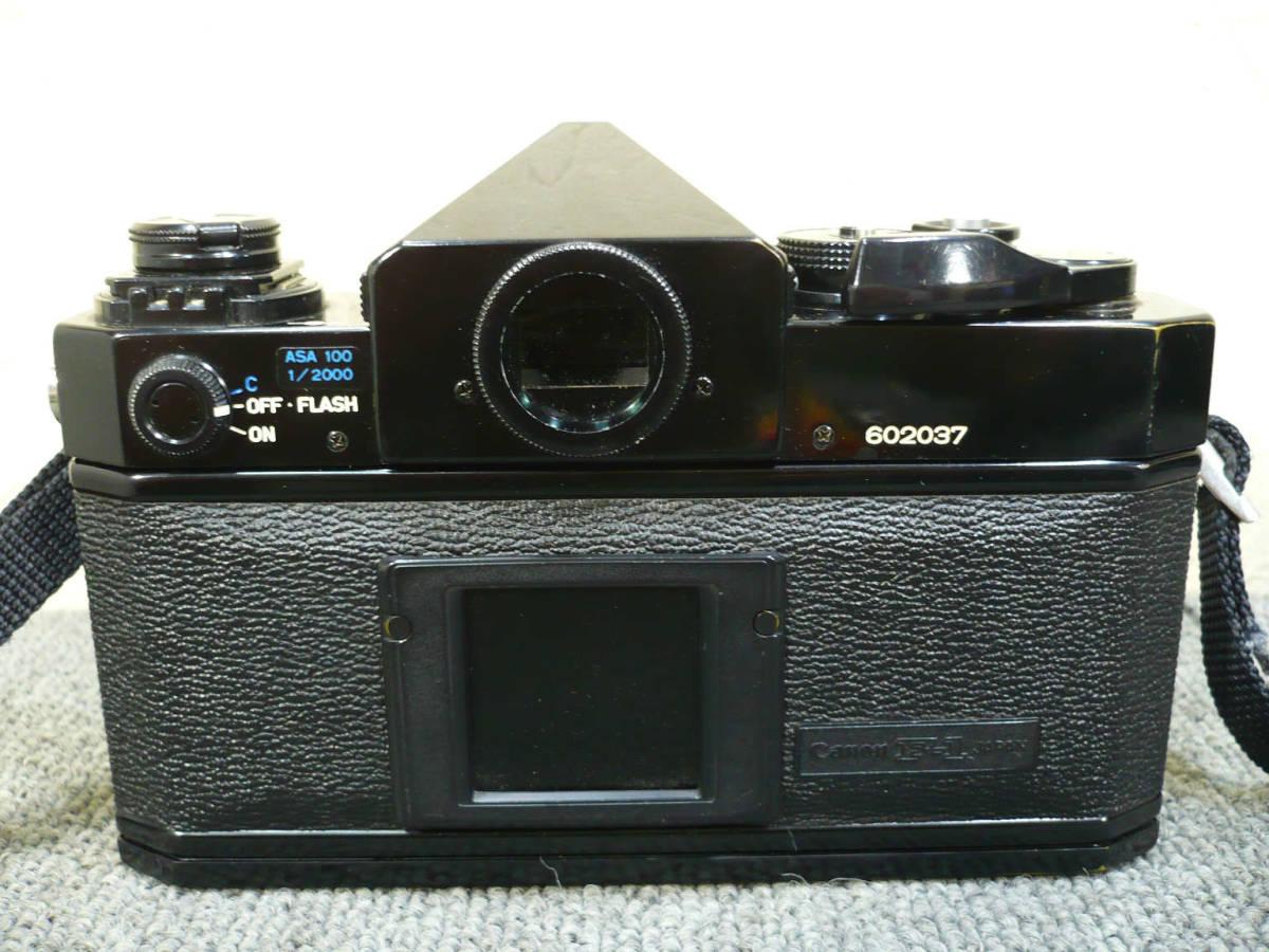★ビンテージ★CANON キャノン F-1 後期型 旧F-1 レンズ NEW FD 35mm 50mm 100-300mm_画像3