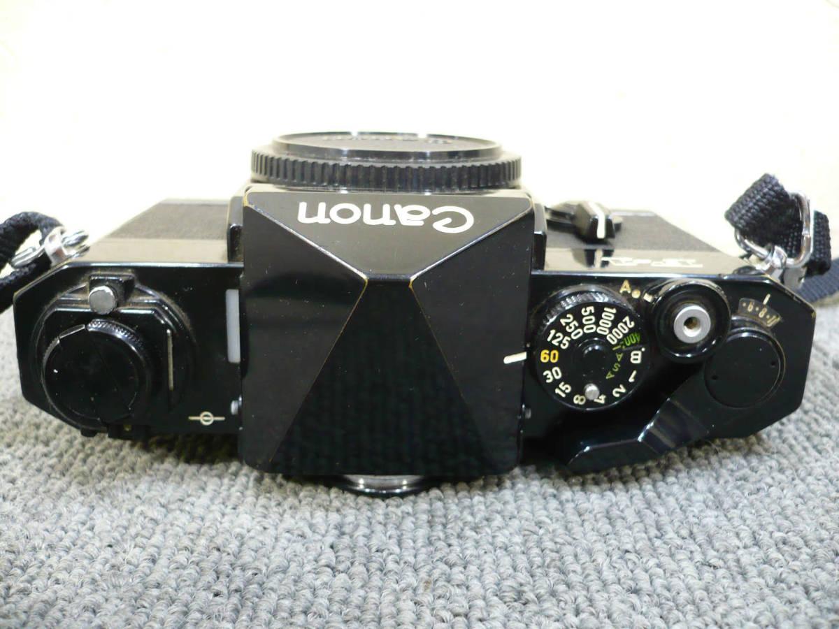 ★ビンテージ★CANON キャノン F-1 後期型 旧F-1 レンズ NEW FD 35mm 50mm 100-300mm_画像4