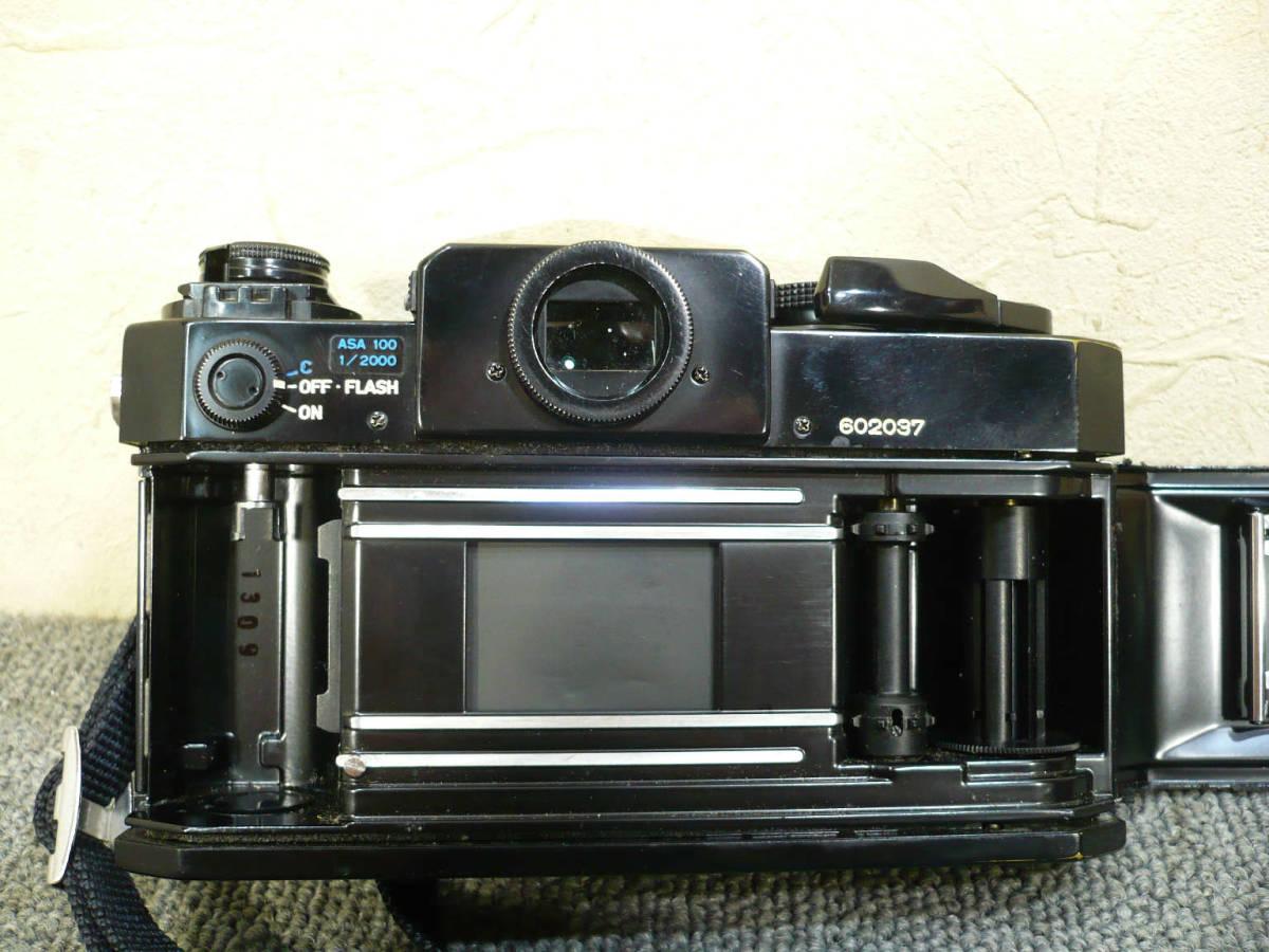 ★ビンテージ★CANON キャノン F-1 後期型 旧F-1 レンズ NEW FD 35mm 50mm 100-300mm_画像7