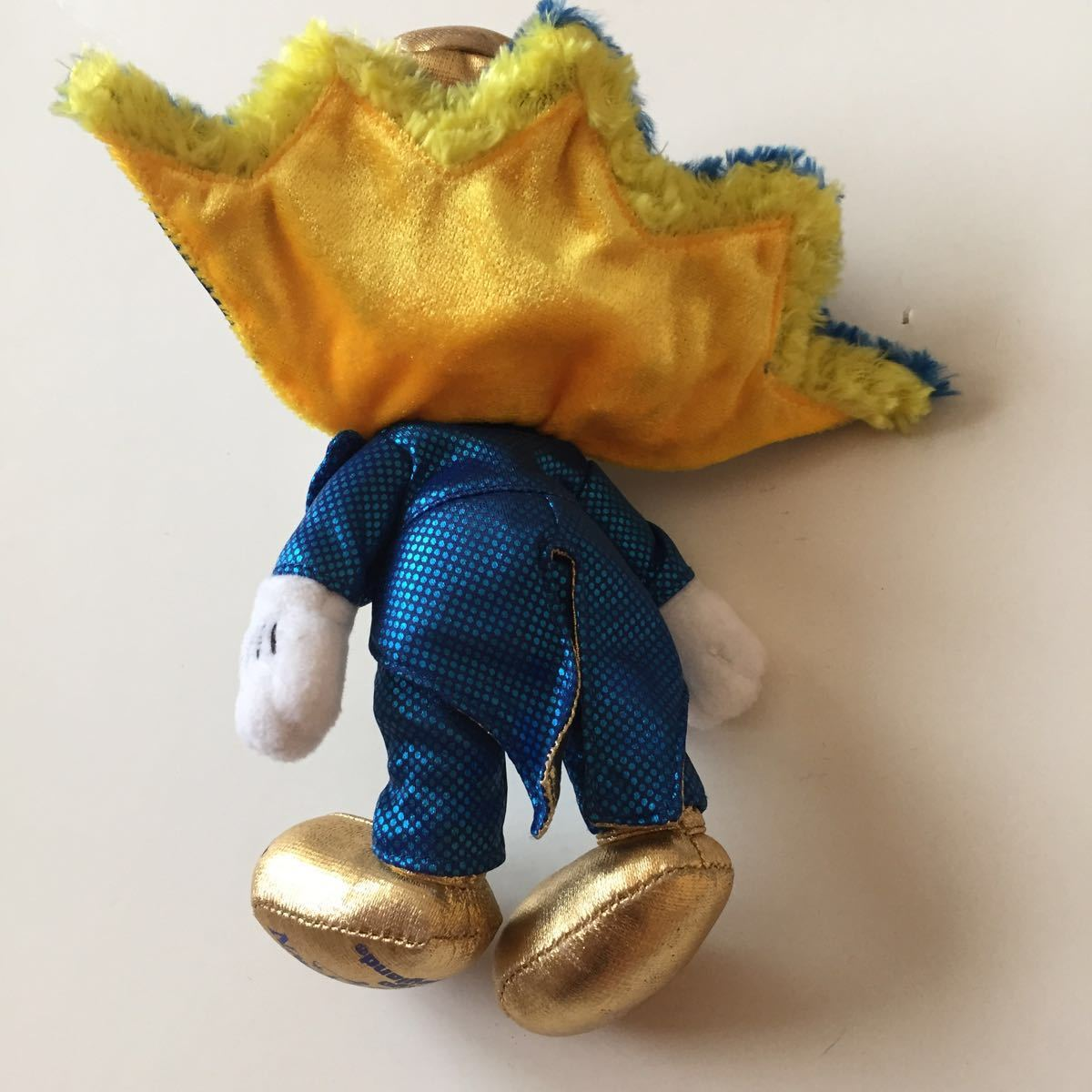 2007 カウントダウンパーティー ぬいぐるみバッジ ぬいば ミッキーマウス 東京ディズニーランド ボールチェーンキーホルダー COUNTDOWN_画像6