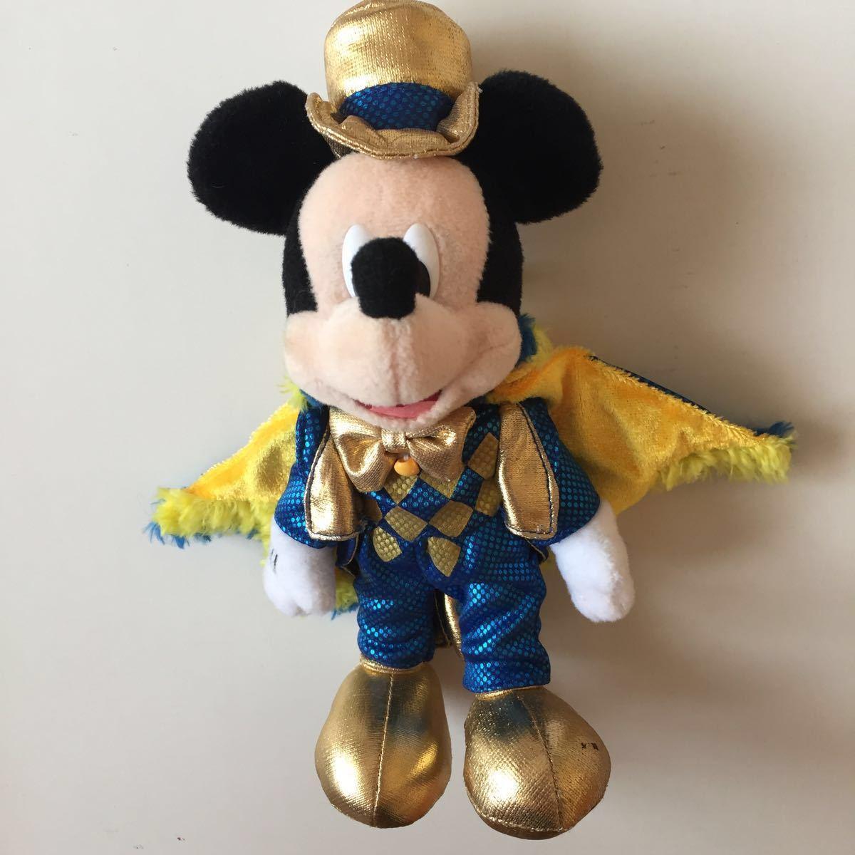 2007 カウントダウンパーティー ぬいぐるみバッジ ぬいば ミッキーマウス 東京ディズニーランド ボールチェーンキーホルダー COUNTDOWN_画像1
