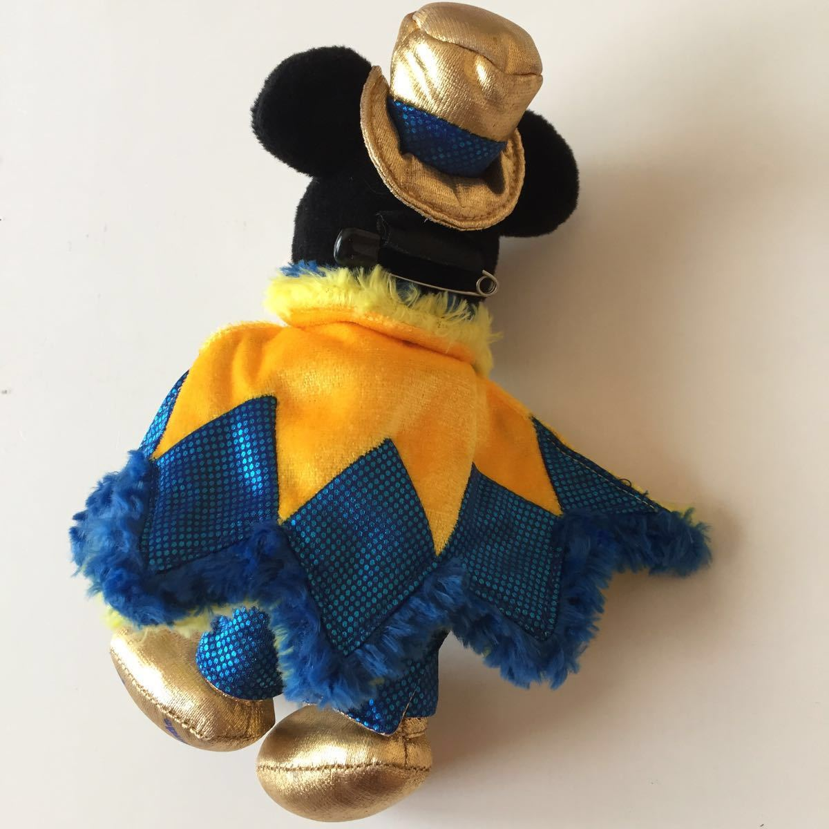 2007 カウントダウンパーティー ぬいぐるみバッジ ぬいば ミッキーマウス 東京ディズニーランド ボールチェーンキーホルダー COUNTDOWN_画像2