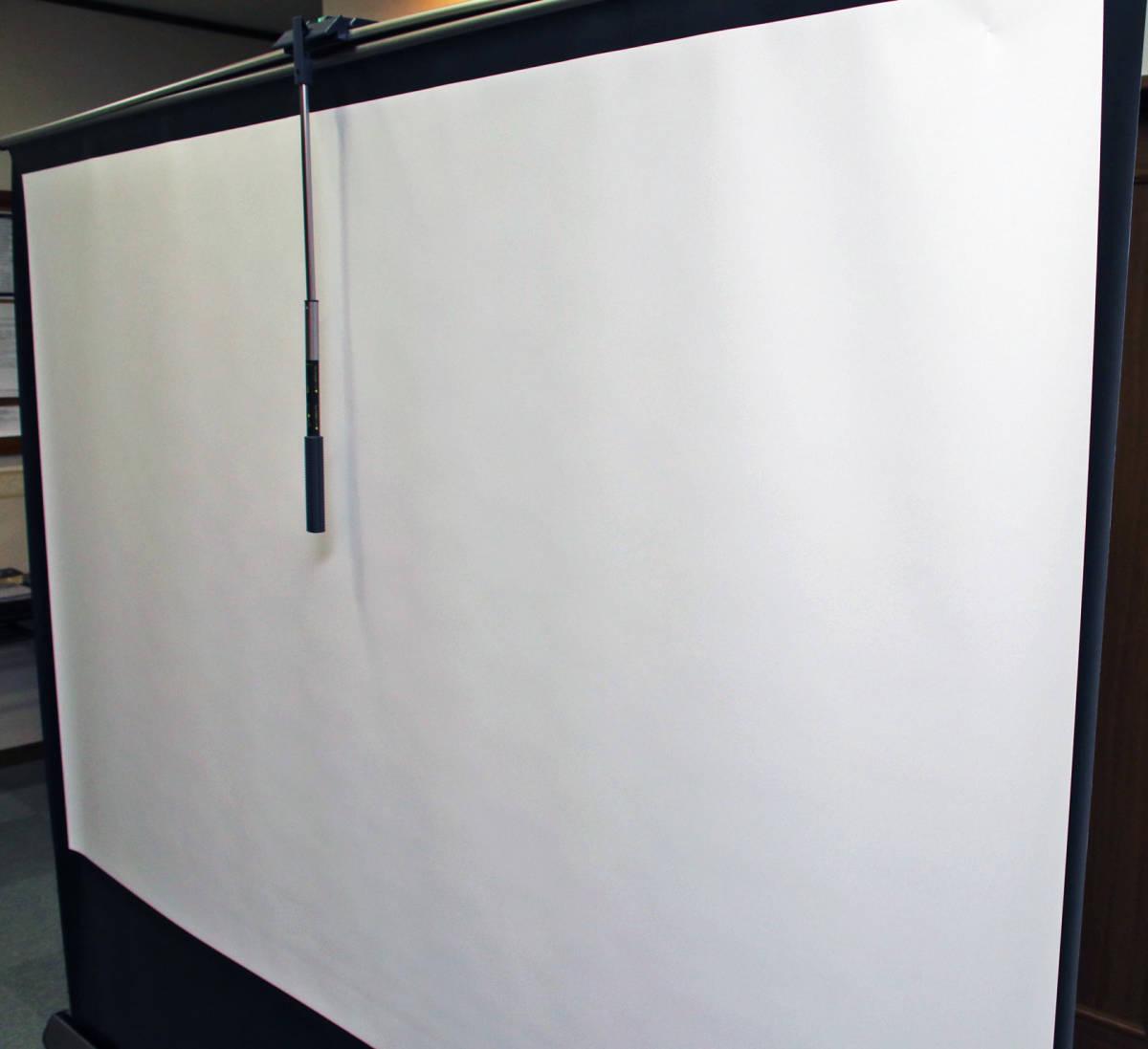 100インチ スクリーン IZUMI-KOSMO 「RS-100V」 プロジェクター_画像6