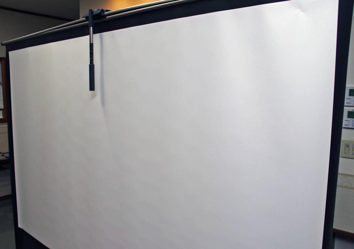 100インチ スクリーン IZUMI-KOSMO 「RS-100V」 プロジェクター_画像5