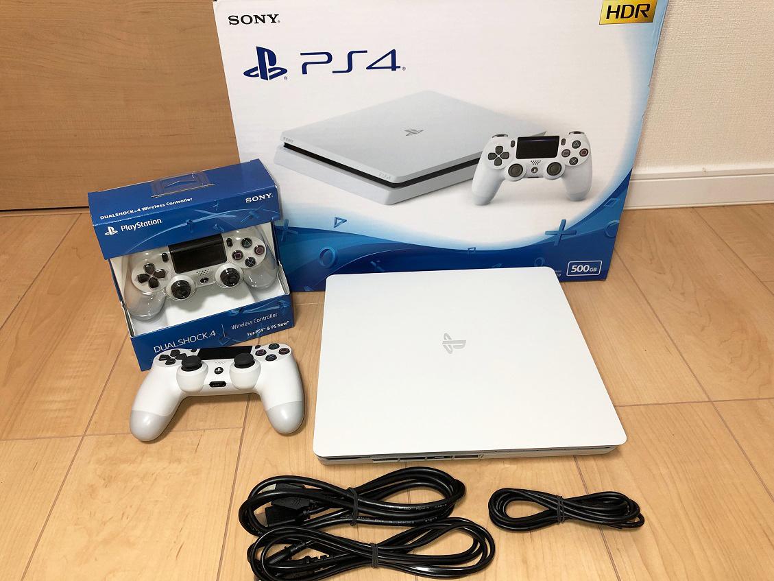 PS4本体 CUH-2200A B02 新品コントローラー付き!中古美品です。