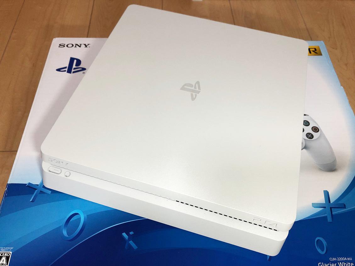 PS4本体 CUH-2200A B02 新品コントローラー付き!中古美品です。_画像2