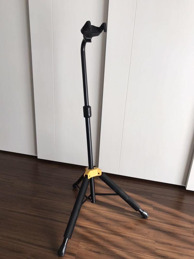 HERCULES GUITAR STANDS GS414B PLUS ( ハーキュレス ギタースタンド ) / ギタースタンド ☆美品☆1円スタート☆NINA付属☆