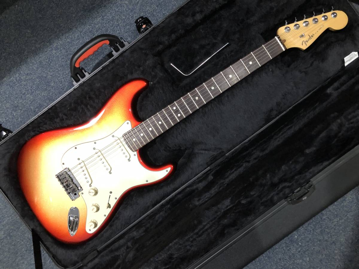 Fender USA American Deluxe Stratocaster N3 SSM/R 美品 2013年製 アメリカン デラックス 純正ハードケース付