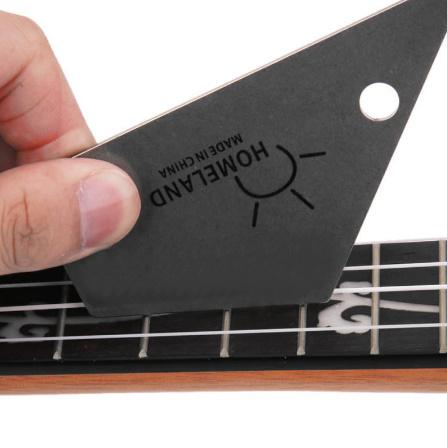 M266 ホームランドフレットロッカーレベルツール トライアングルルーラースチールメーカー 弦楽器ギターツール用品_画像5