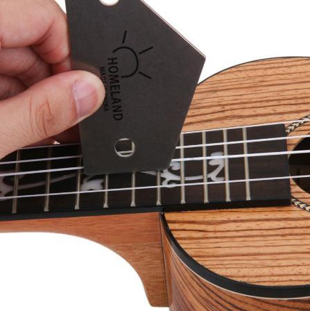 M266 ホームランドフレットロッカーレベルツール トライアングルルーラースチールメーカー 弦楽器ギターツール用品_画像1