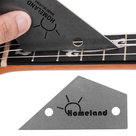 M266 ホームランドフレットロッカーレベルツール トライアングルルーラースチールメーカー 弦楽器ギターツール用品_画像4