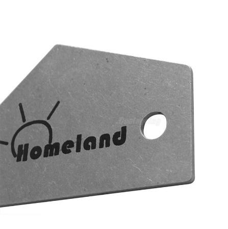 M266 ホームランドフレットロッカーレベルツール トライアングルルーラースチールメーカー 弦楽器ギターツール用品_画像6