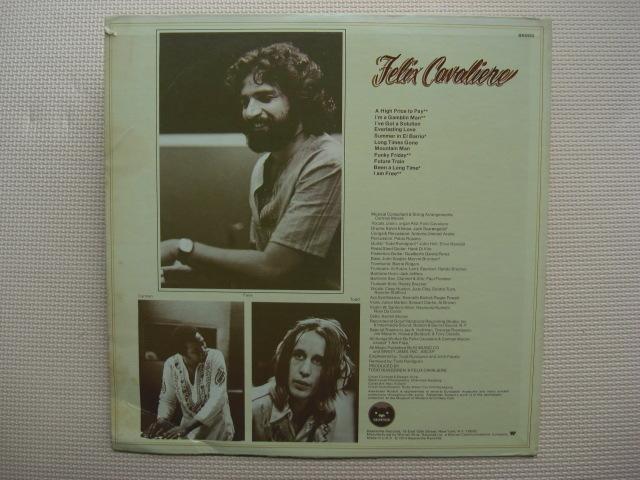 *【LP】Felix Cavaliere/Felix Cavaliere(BR6955)(輸入盤)_画像6