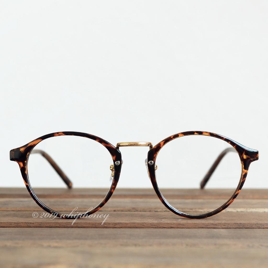 送料無料 レトロクラシックボストンメガネUV 伊達眼鏡 だてめがね デミ べっ甲 ゴールド ブラウン サングラス メンズ レディース_画像2
