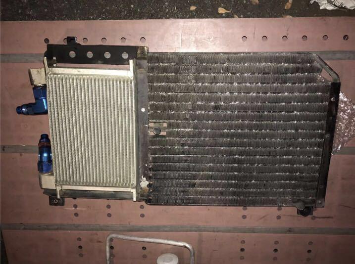 BNR32 ニスモ コンデンサー一体式 オイルクーラー 絶版品 ♪ GTR GT-R nismo ニスモ HKS TRUST HPI ARC R32 R32NO14_BNR32 ニスモオイルクーラー