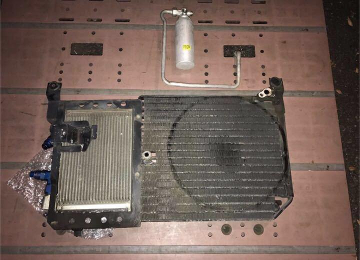 BNR32 ニスモ コンデンサー一体式 オイルクーラー 絶版品 ♪ GTR GT-R nismo ニスモ HKS TRUST HPI ARC R32 R32NO14_エアコンコンデンサー一体式