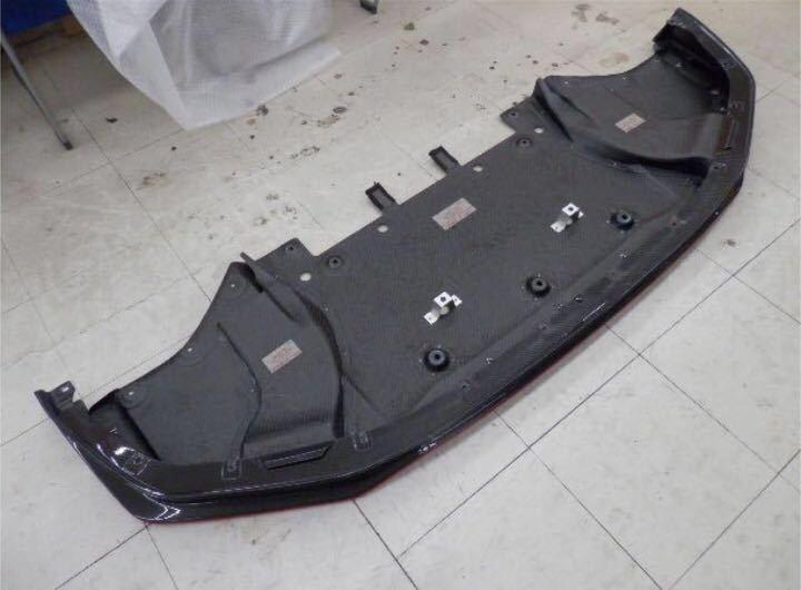 日産純正 R35 GT-R ニスモ フロント カーボン ディフューザー ♪ GTR GT-R nismo ニスモ カーボン チタン R35NO3_R35GT-Rニスモディフューザー