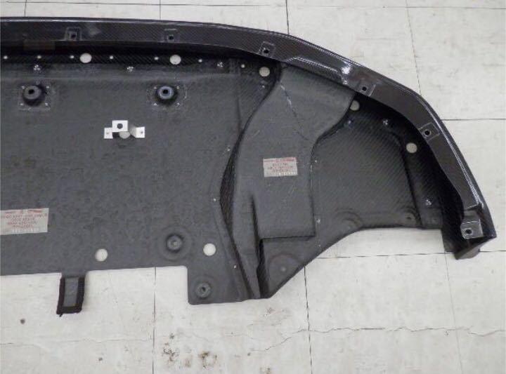 日産純正 R35 GT-R ニスモ フロント カーボン ディフューザー ♪ GTR GT-R nismo ニスモ カーボン チタン R35NO3_画像6