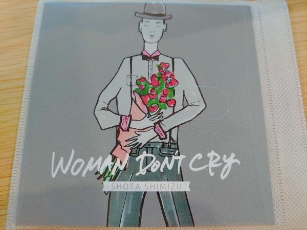 WOMAN DON'T CRY 清水翔太 歌詞カードとCDのみでの出品です_画像1