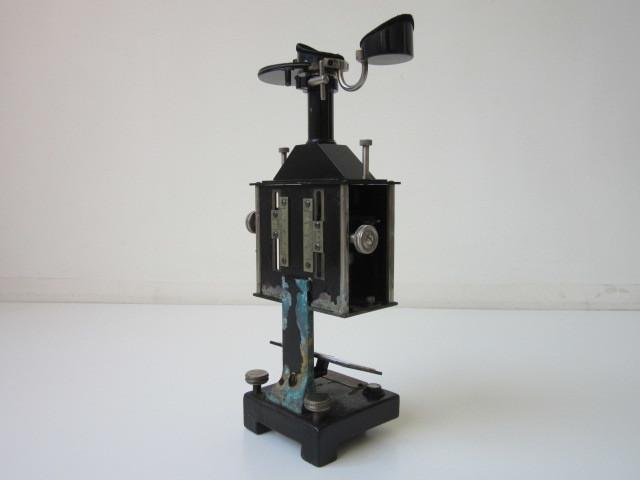希少 Janke & Kunkel A.G Koeln ドイツ アンティーク 特殊 顕微鏡 木製ケース付 検/ Ernst Leitz Wetzlar ライツ ライカ レンズ_画像3
