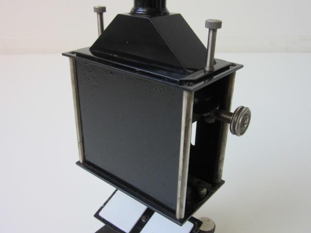 希少 Janke & Kunkel A.G Koeln ドイツ アンティーク 特殊 顕微鏡 木製ケース付 検/ Ernst Leitz Wetzlar ライツ ライカ レンズ_画像5