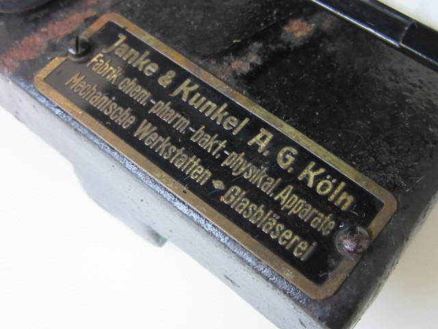 希少 Janke & Kunkel A.G Koeln ドイツ アンティーク 特殊 顕微鏡 木製ケース付 検/ Ernst Leitz Wetzlar ライツ ライカ レンズ_画像9