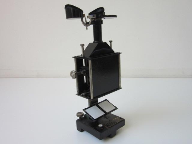 希少 Janke & Kunkel A.G Koeln ドイツ アンティーク 特殊 顕微鏡 木製ケース付 検/ Ernst Leitz Wetzlar ライツ ライカ レンズ_画像2