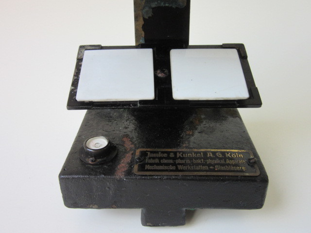 希少 Janke & Kunkel A.G Koeln ドイツ アンティーク 特殊 顕微鏡 木製ケース付 検/ Ernst Leitz Wetzlar ライツ ライカ レンズ_画像8