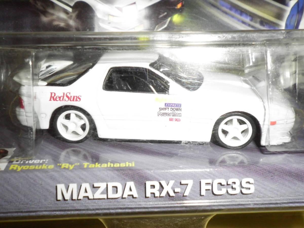Jada Toys 1/64 イニシャルD RX-7 FC ホワイト 高橋啓介 新品未開封品_画像2