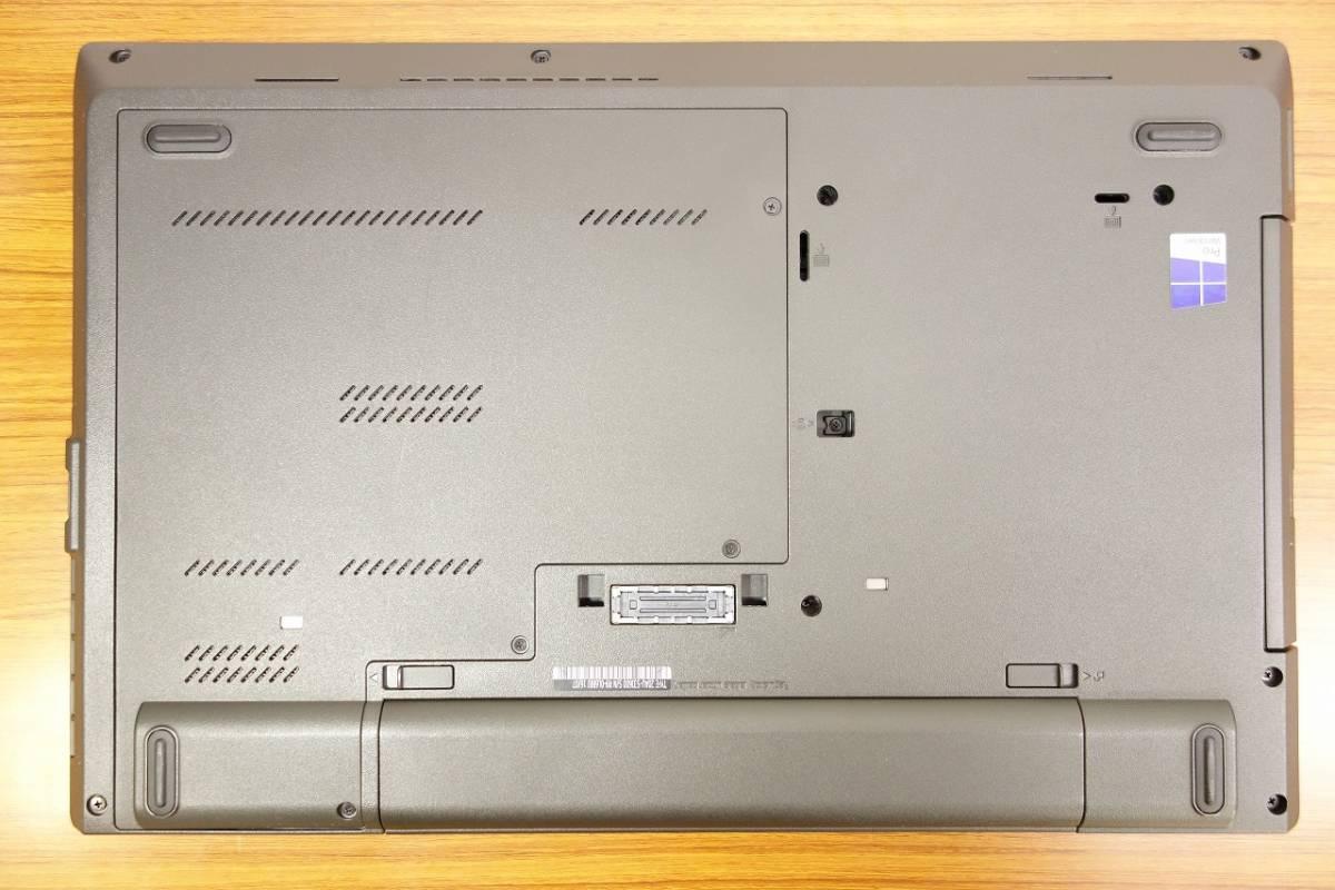 ★ストレージ1.0TB(新品SSD 512GB + HDD 500GB) ★大画面15.6インチ RAM 8.0GB Lenovo ThinkPad L540 Core i5-4200M 2.5GHz (2)_画像4