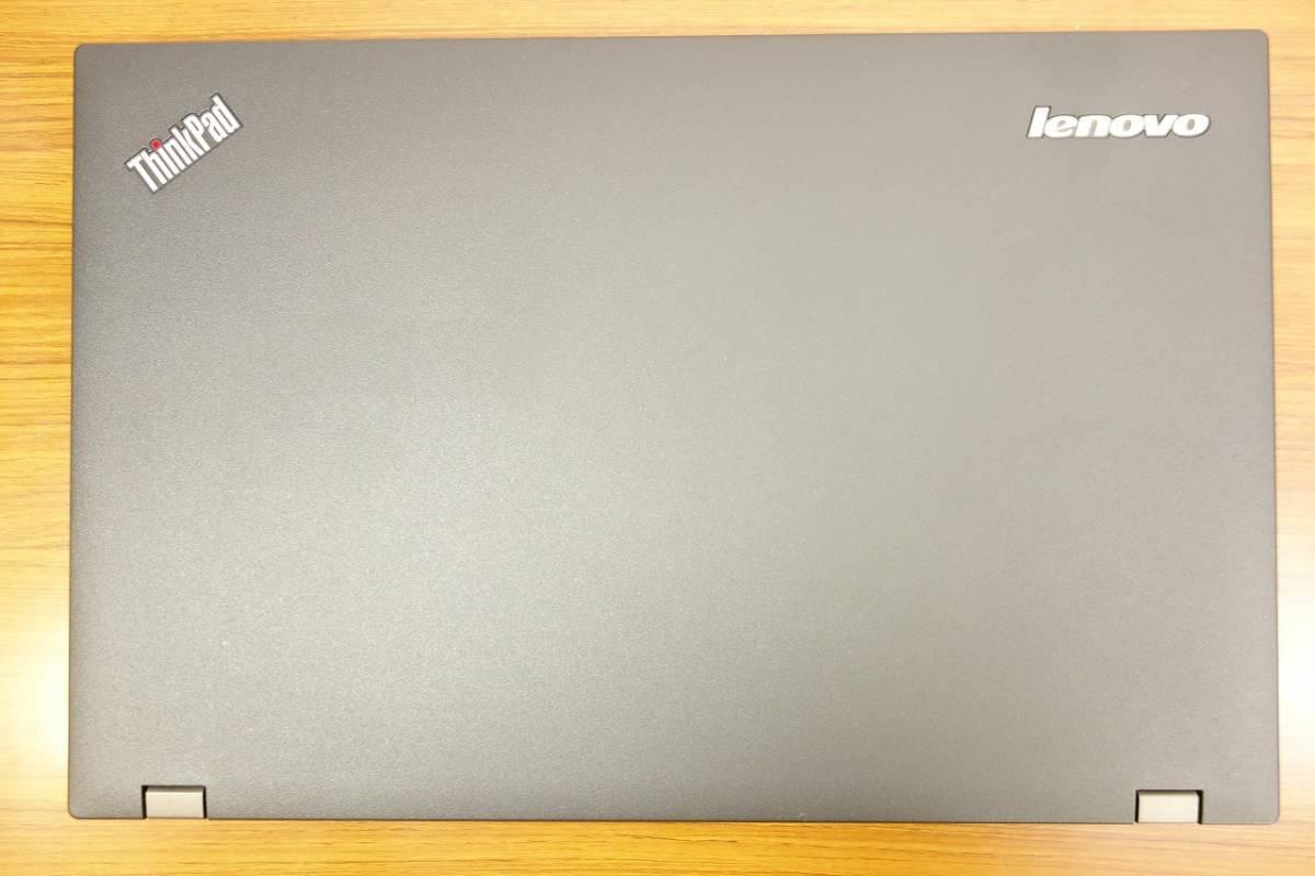 ★ストレージ1.0TB(新品SSD 512GB + HDD 500GB) ★大画面15.6インチ RAM 8.0GB Lenovo ThinkPad L540 Core i5-4200M 2.5GHz (2)_画像3