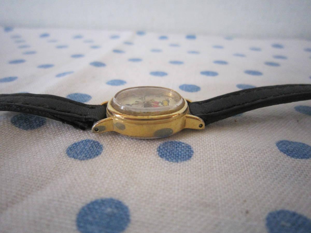 ◎*。  古いミッキーマウス 腕時計 ヴィンテージ チャイルド用 レトロ  ディズニー ジャンク ③ 。*◎_画像4