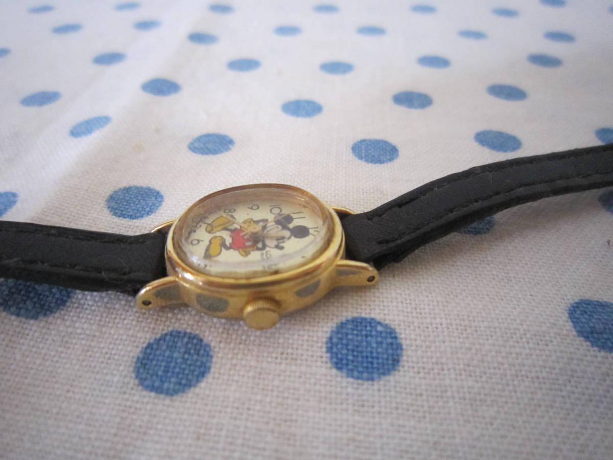 ◎*。  古いミッキーマウス 腕時計 ヴィンテージ チャイルド用 レトロ  ディズニー ジャンク ③ 。*◎_画像5