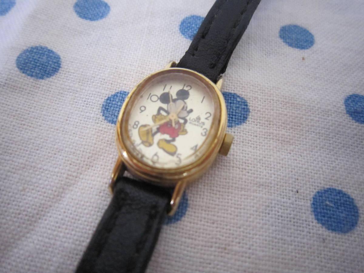 ◎*。  古いミッキーマウス 腕時計 ヴィンテージ チャイルド用 レトロ  ディズニー ジャンク ③ 。*◎_画像3
