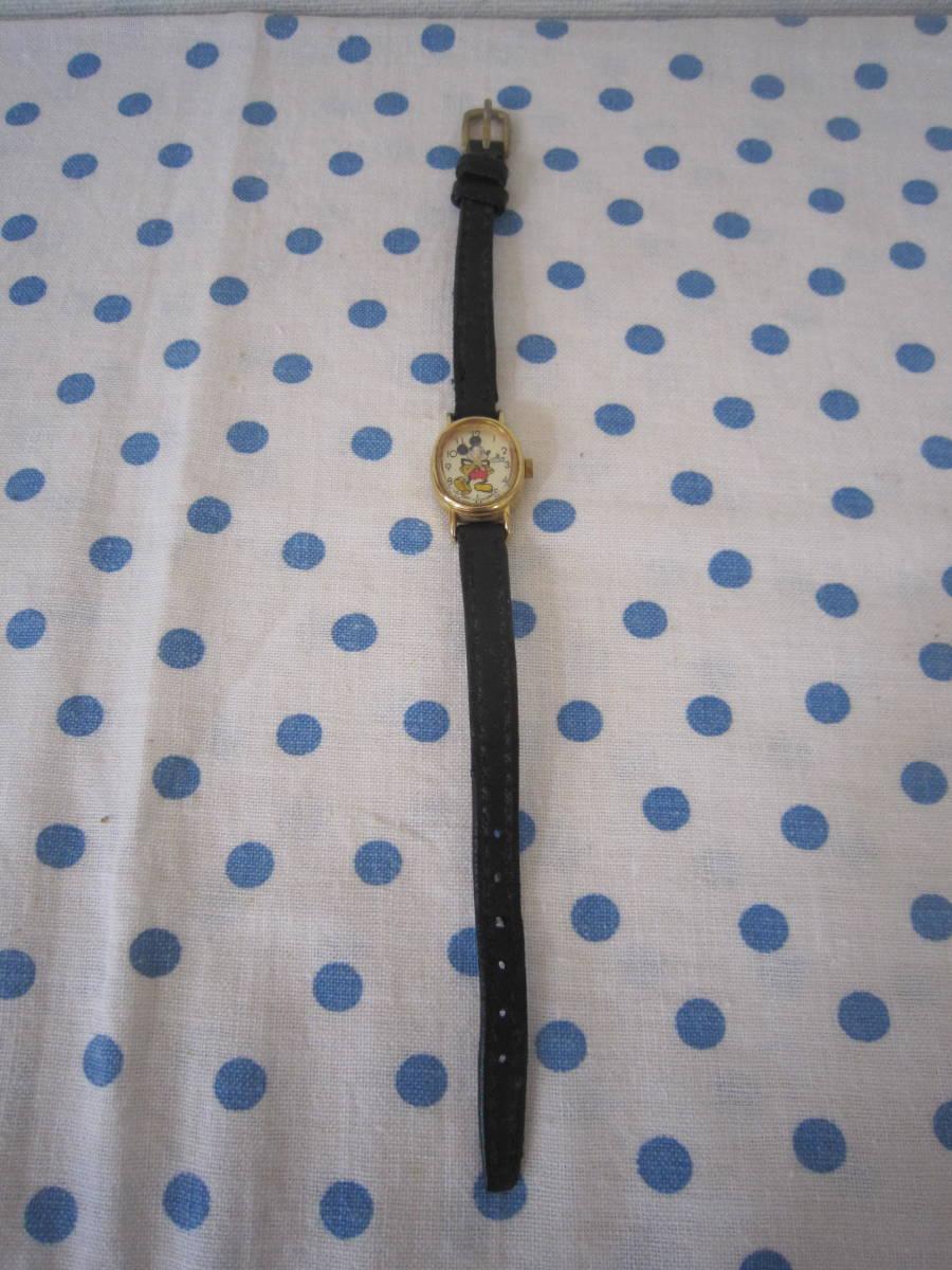 ◎*。  古いミッキーマウス 腕時計 ヴィンテージ チャイルド用 レトロ  ディズニー ジャンク ③ 。*◎_画像2