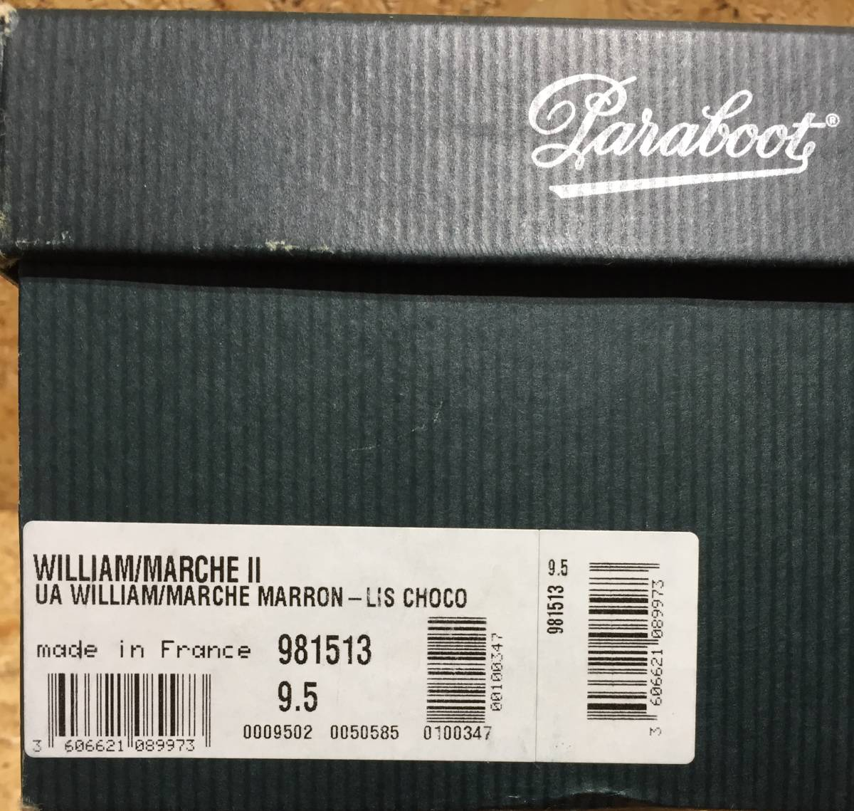 Paraboot UNITED ARROWS WILLIAM ダブル モンク シューズ 9.5 コラボ 別注 限定 ユナイテッド アローズ ウィリアム_画像8