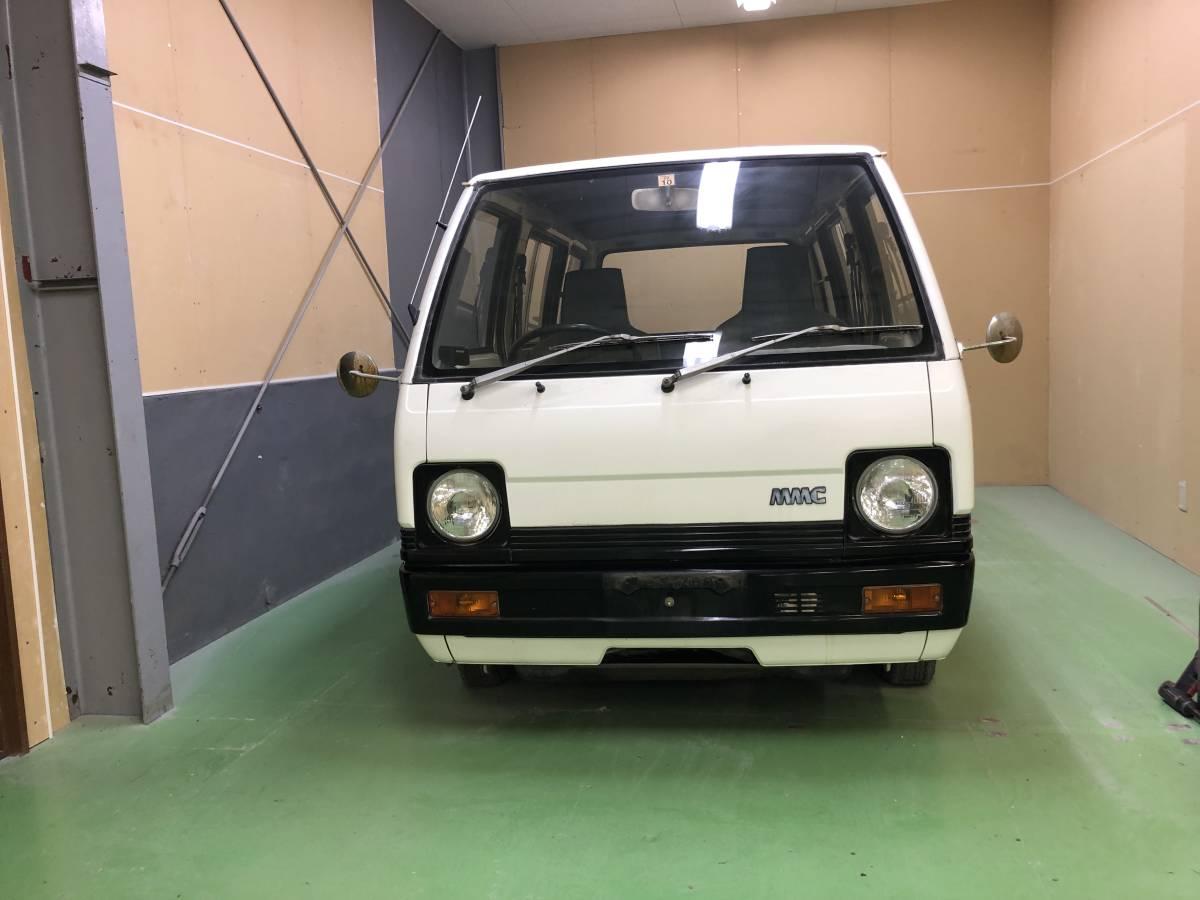 三菱 ミツビシ ミニキャブ ミニキャブバン 旧車 レストアベース 部品取り ジャンク