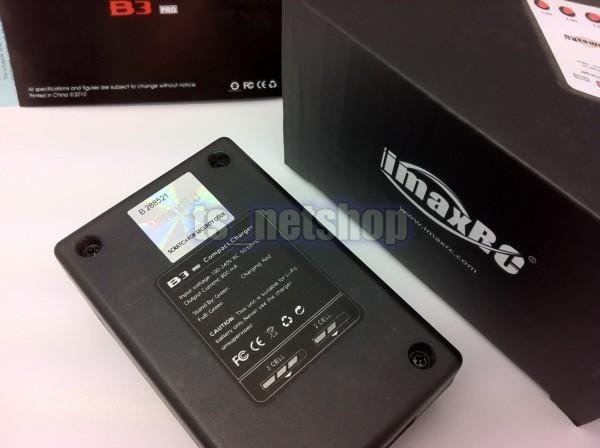 iMAX B3Pro 2~3セル用バランス充電器 AC電源内蔵 セキュリティコードシール_画像3